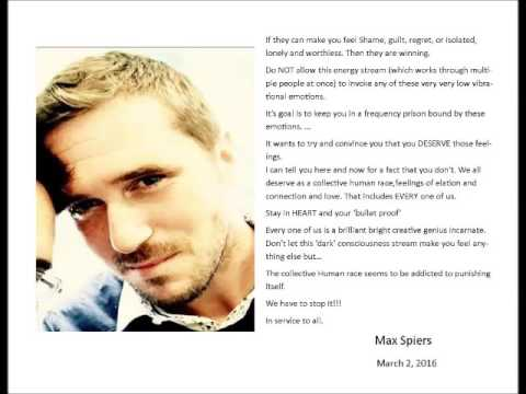 Max Spiers's Mom and Friend on DavidShurter.com- Max's Death and Message