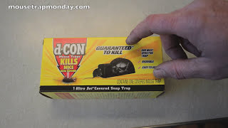 d-CON Ultra Set  Covered Mouse Trap In Action - Full Review.. Mouse Trap Monday.