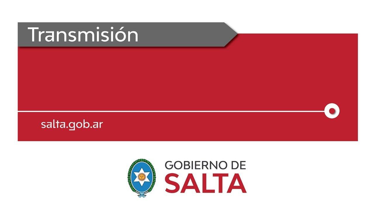 (En Vivo) Gobernador Gustavo Sáenz anuncios