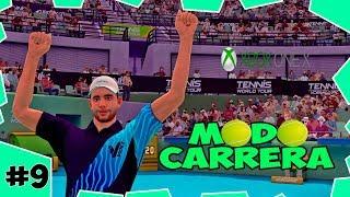 PRIMER TORNEO CON TOPS 10 ATP | TENNIS WORLD TOUR CARRERA #9 | XBOX ONE X