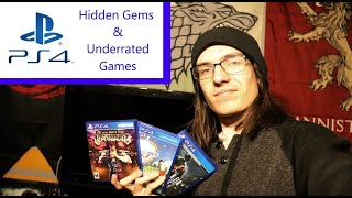 PS4 Hidden Gems and Underrated Games