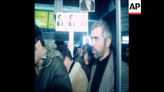 SYND 18 12 78 IRANIAN LEADER MONTAZERI ARRIVING AFTER FREED FROM PRISON