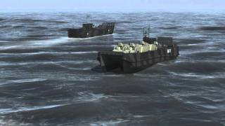 Tri-bow monohull Fast Landing Craft (FLC) from BMT