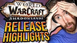 Asmongold Journey to MAX LEVEL in WoW Shadowlands