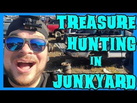 Treasure Hunting In A Junkyard - Harry's U Pull It