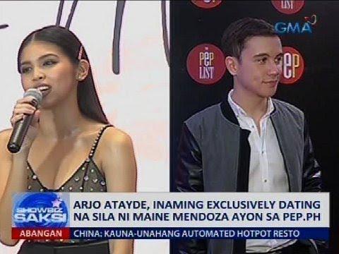 Arjo Atayde, Inaming Exclusively Dating Na Sila Ni Maine Mendoza Ayon Sa Pep.ph