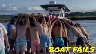 Rental boats gone wild!   Boat Fails