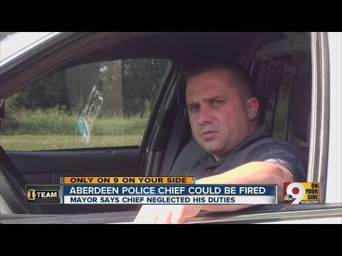 Aberdeen police chief could be fired