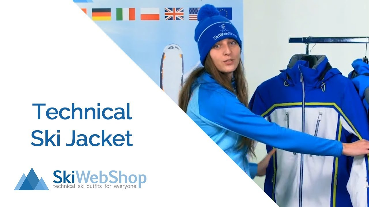 What is a technical ski jacket?