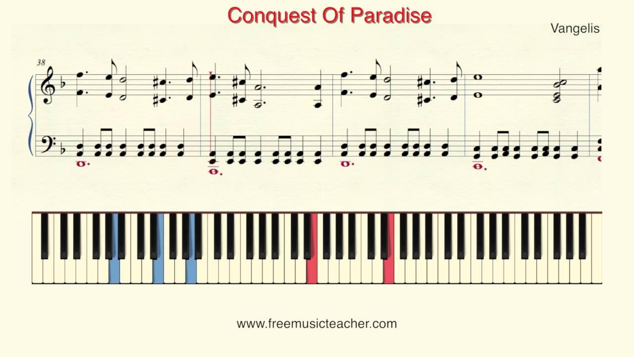 vangelis conquest of paradise para