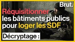SDF : une proposition de loi pour réquisitionner les bâtiments publics