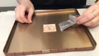 How to do foil stamp with temperature adjustable soldering iron?