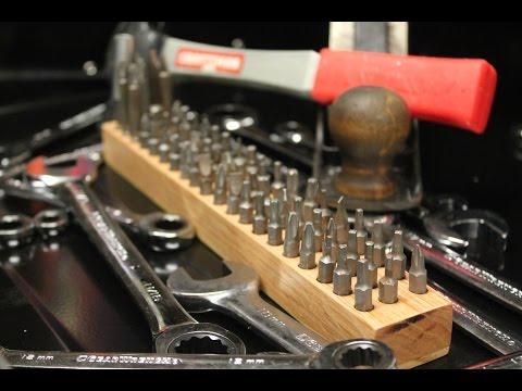 DIY: Driver Bit Organizer