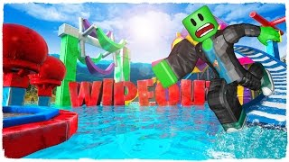 👉 DIE RACE OF DEATH - WIPEOUT IN ROBLOX!