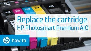 Replacing a Cartridge - HP Photosmart Premium All-in-One Printer (C309a)(, 2010-10-25T20:11:38.000Z)
