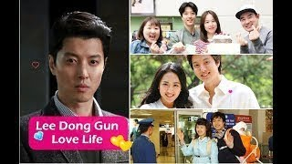 Lee Dong Gun Love Life Through The Years