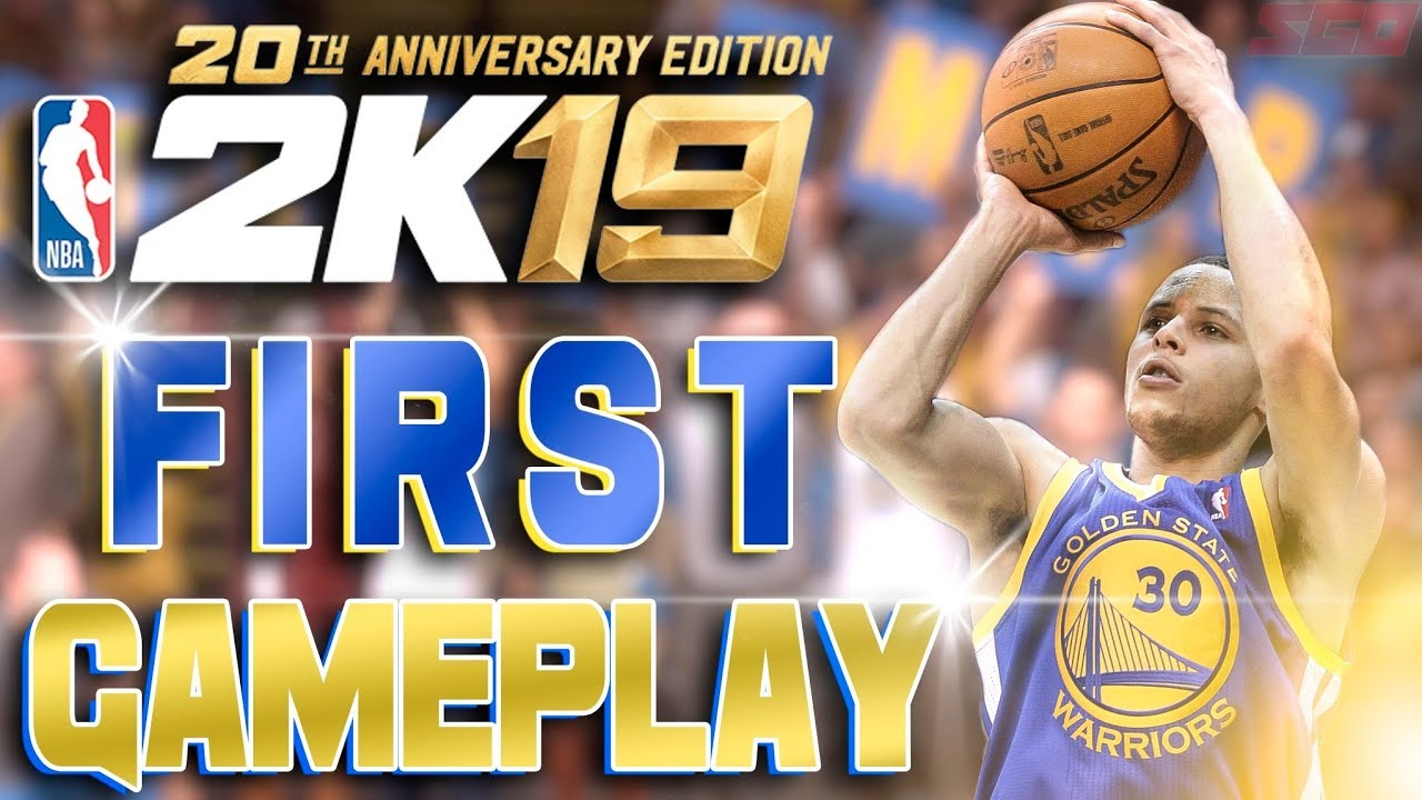 NBA 2K19 Gameplay! First 2K19 Gameplay and New Info!