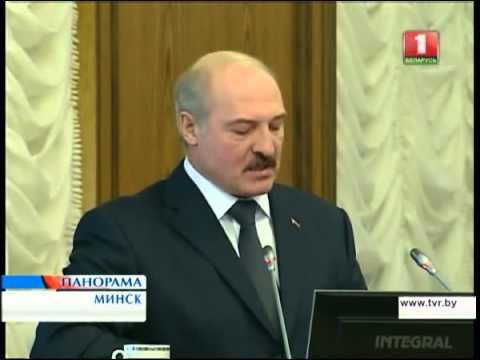 Александр Лукашенко на заседании Правительства 01.03.2013