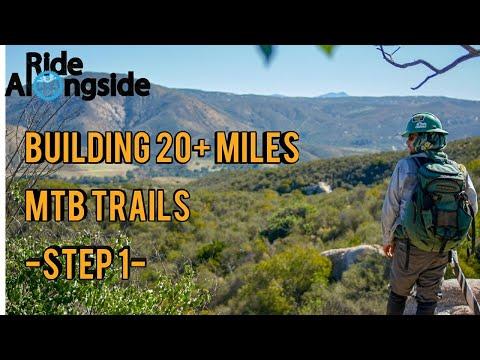MTB Trail Building: 20+ Miles in San Diego - Step 1
