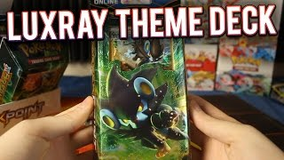 Pokemon Cards - Luxray Breakpoint Theme Deck Opening & Gameplay