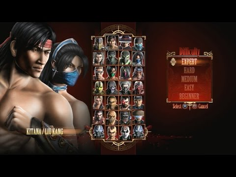 Mortal Kombat 9 - Expert Tag Ladder (Kitana & Liu Kang/3 Rounds/No Losses)