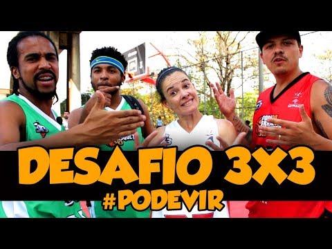 DESAFIO FIGURAS DO 3X3 - HABILIDADE, ARREMESSO E DUNK??? ft Beiçudo, Cristal Rocha e Parizi