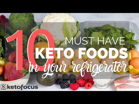 10 KETO FOODS YOU SHOULD ALWAYS HAVE IN YOUR FRIDGE + 7 easy keto recipes to make with them
