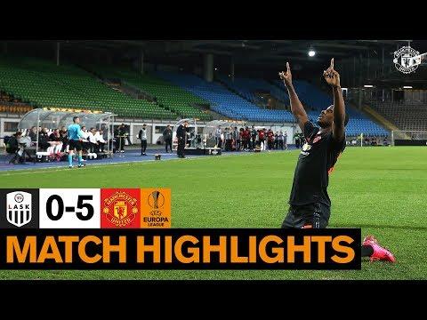 Highlights | LASK 0-5 Manchester United | UEFA Europa League