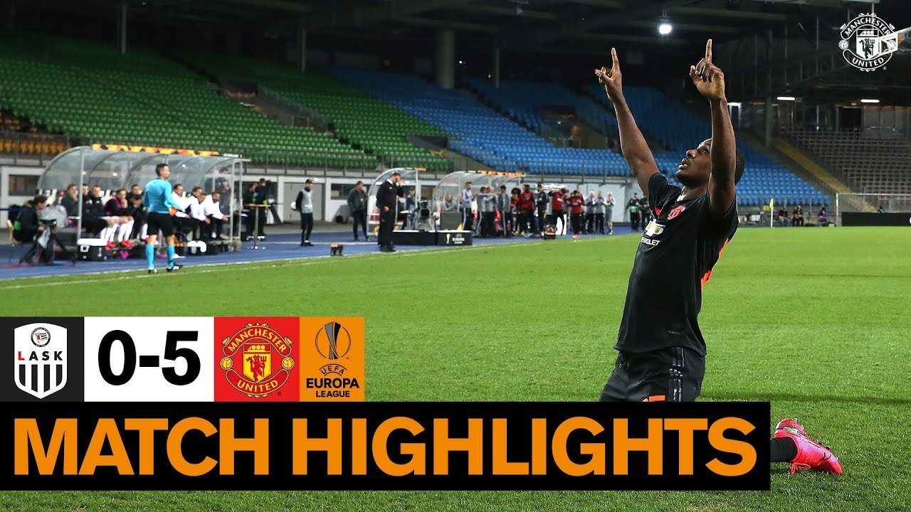 Highlights | LASK 0-5 Manchester United | UEFA Europa League