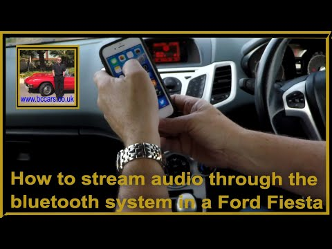 How To Stream Audio Through The Bluetooth System In A Ford Fiesta 1 6 Zetec S Hatchback 3