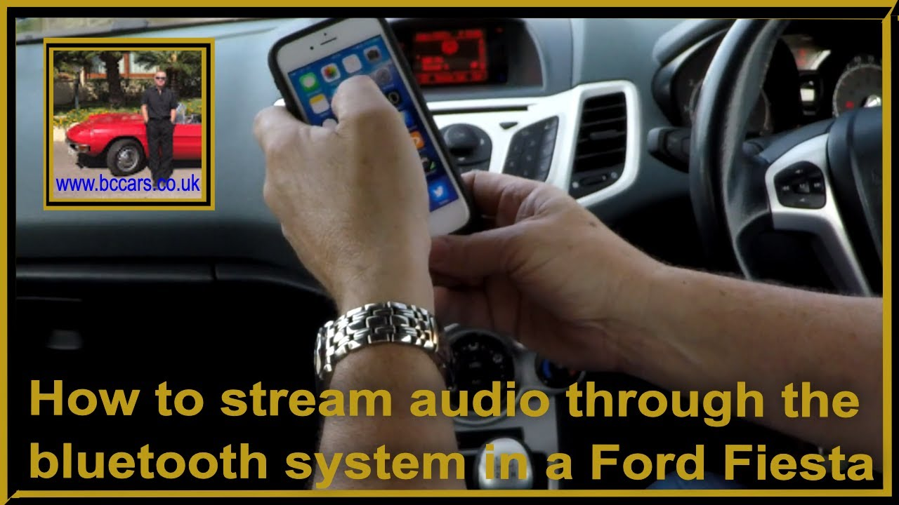 how to connect car audio system to cell phone