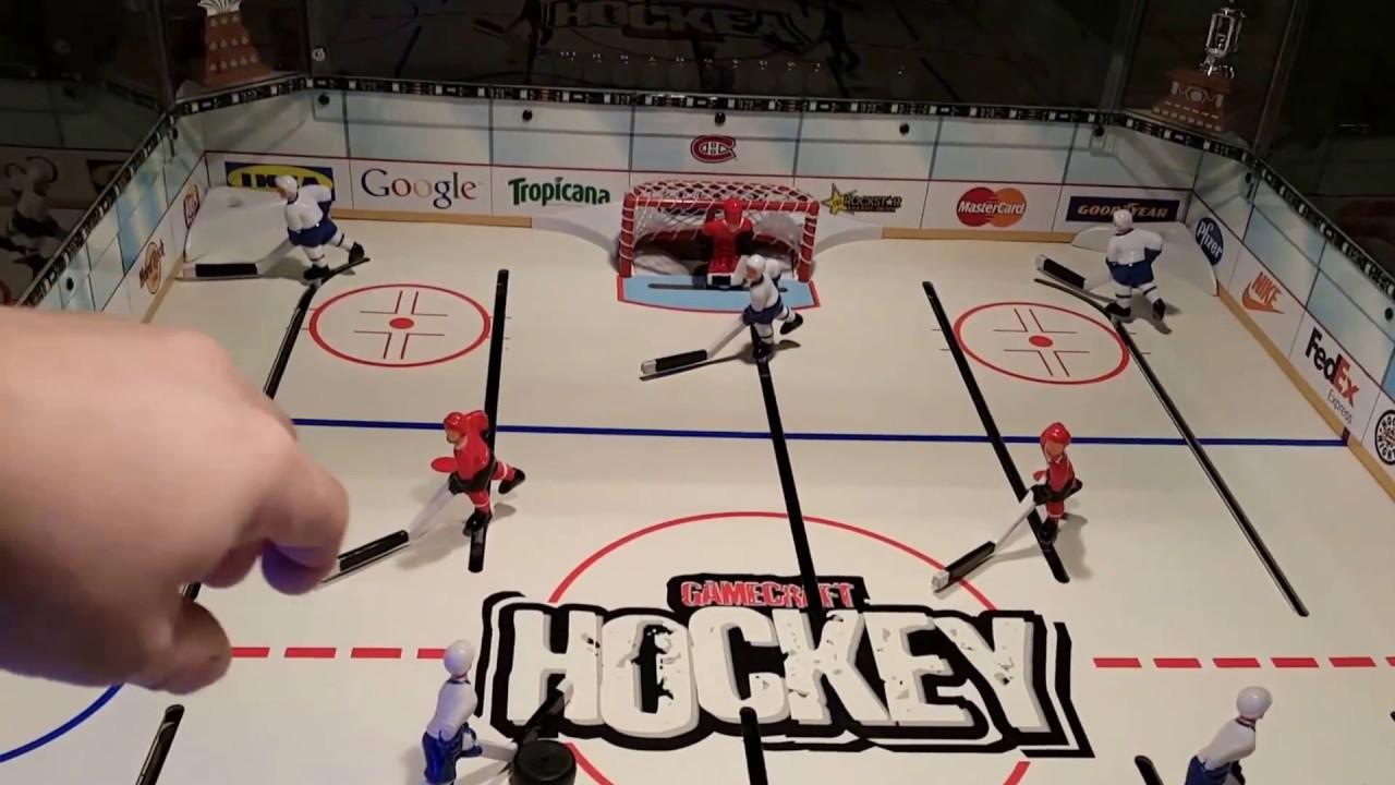 Gamecraft Rod Hockey Table With Custom Electronic