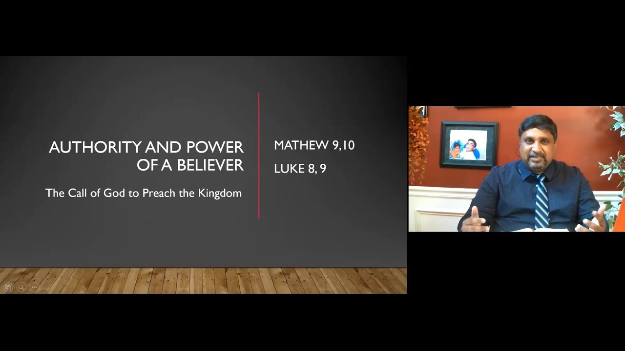 Sunday Sermon- Br. Santosh Mathew-06/14/2020