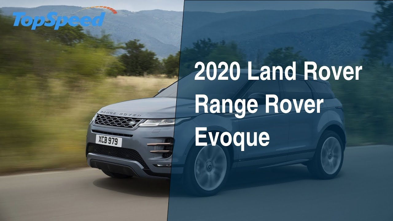 2020 Land Rover Range Rover Evoque Youtube