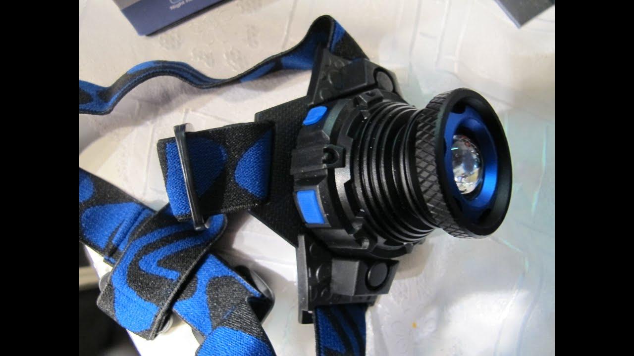 Самый мощный светодиодный фонарик в мире 1000W LED, 90000 Lumens .