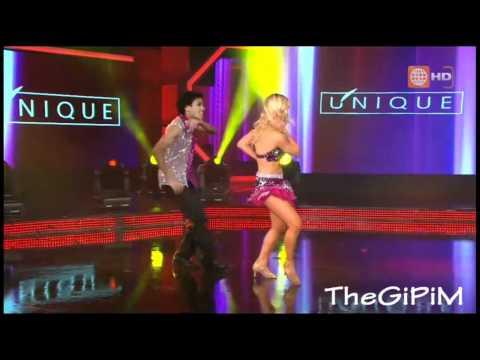 Belen Estevez y Waldir Felipa bailan Cumbia: El Tao Tao (HD)  03/09/2011