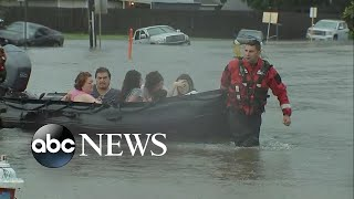 Thousands rescued in Houston amid catastrophic flooding