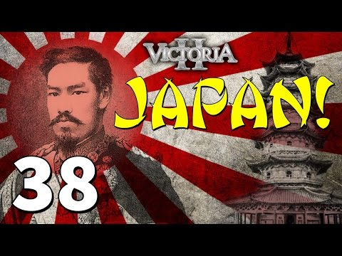 Vic2 Japan [38] Silky Tea Is Quite Silky - Victoria 2 Heart Of Darkness Gameplay