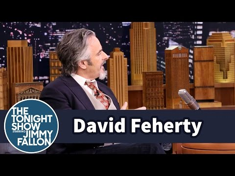 David Feherty Woke Up in Denmark After a Tournament in Sweden