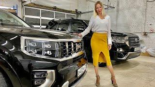 Новый КРУЗАК vs новый Kia Mohave! Toyota Land Cruiser проиграла?