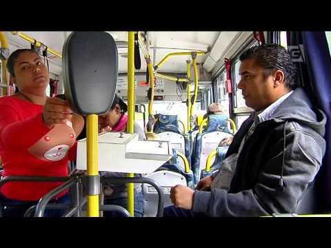 Prefeitura testa linha com ônibus sem cobrador