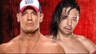 John Cena vs Shinsuke Nakamura Wrestlemania 33 Promo HD
