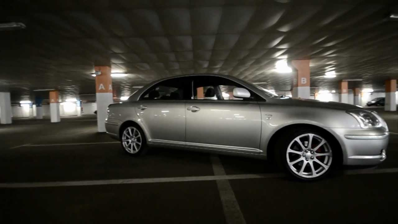Rims On My Car >> My Toyota Avensis T25 - YouTube