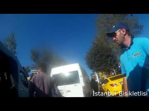 İstanbul Bisikletlisi - Beşiktaş'ta 2 Sığırın Saldırısı
