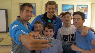 2016 Finn Gold Cup - Gaeta School Visit
