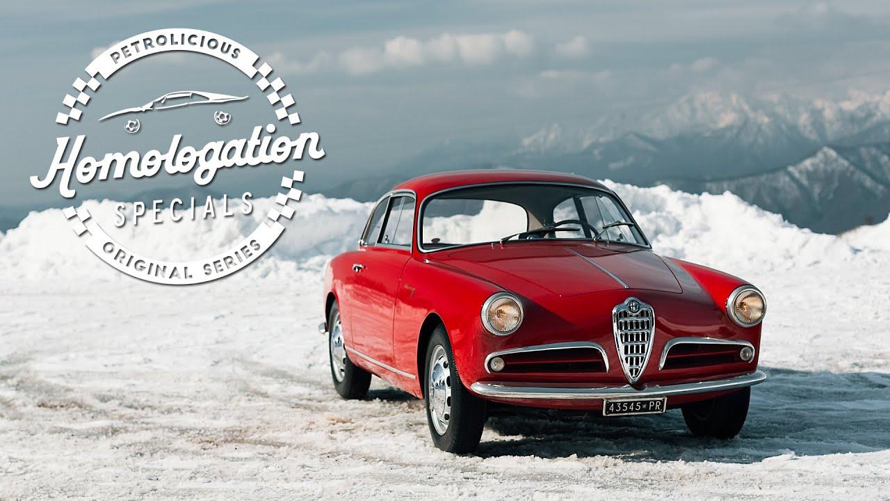 Homologation Specials: 1957 Alfa Romeo Giulietta Sprint Veloce 'Alleggerita'