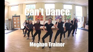 'Can't Dance' Meghan Trainor (Dance Choreography) Video