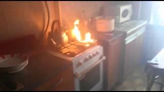 В Нефтекамске чуть не загорелась квартира