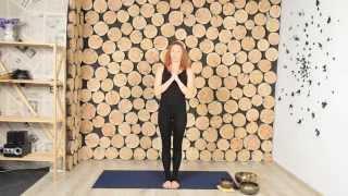 Урок 2: Йога для начинающих - балансы от Юлии Степуры.