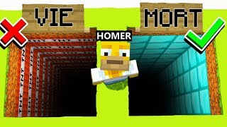 JE TROLL HOMER SIMPSON SUR MINECRAFT !! 😂 (Base Secrète) | PS4/PS3/XBOX ONE/WII U/MCPE/SWITCH/PC FR